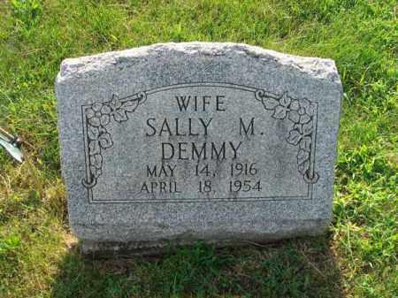 DEMMY, SALLY M. - Fairfield County, Ohio | SALLY M. DEMMY - Ohio Gravestone Photos