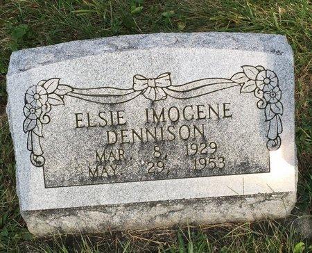 DENNISON, ELSIE IMOGENE - Fairfield County, Ohio | ELSIE IMOGENE DENNISON - Ohio Gravestone Photos