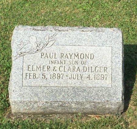 DILGER, PAUL RAYMOND - Fairfield County, Ohio | PAUL RAYMOND DILGER - Ohio Gravestone Photos
