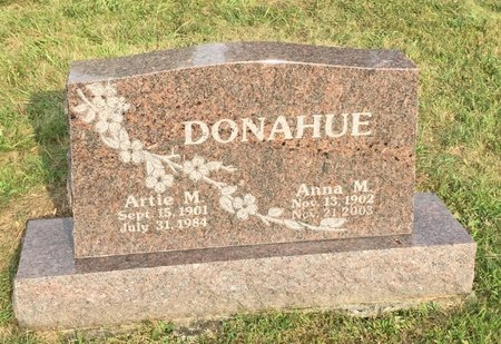 DONAHUE, ANNA M. - Fairfield County, Ohio | ANNA M. DONAHUE - Ohio Gravestone Photos