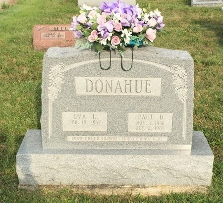 DONAHUE, PAUL D. - Fairfield County, Ohio | PAUL D. DONAHUE - Ohio Gravestone Photos