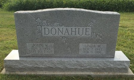DONAHUE, JOHN W. - Fairfield County, Ohio   JOHN W. DONAHUE - Ohio Gravestone Photos