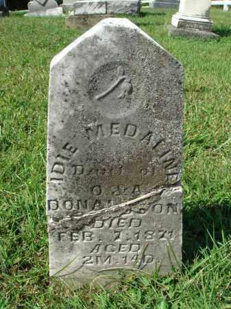 DONALDSON, IDIE MEDALINE - Fairfield County, Ohio   IDIE MEDALINE DONALDSON - Ohio Gravestone Photos