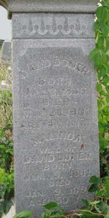 DONER, MALINDA - Fairfield County, Ohio   MALINDA DONER - Ohio Gravestone Photos