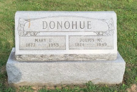DONOHUE, MARY I. - Fairfield County, Ohio | MARY I. DONOHUE - Ohio Gravestone Photos