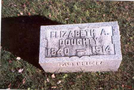 DOUGHTY, ELIZABETH A. - Fairfield County, Ohio | ELIZABETH A. DOUGHTY - Ohio Gravestone Photos