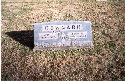 DOWNARD, NORA F. - Fairfield County, Ohio | NORA F. DOWNARD - Ohio Gravestone Photos