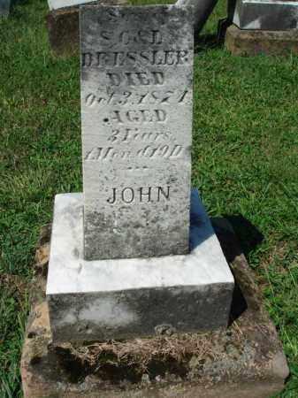 DRESSLER, JOHN - Fairfield County, Ohio | JOHN DRESSLER - Ohio Gravestone Photos