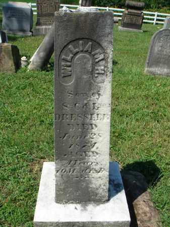 DRESSLER, WILLIAM H. - Fairfield County, Ohio   WILLIAM H. DRESSLER - Ohio Gravestone Photos