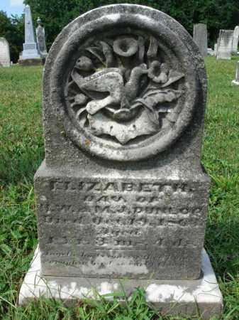 DUNLOP, ELIZABETH - Fairfield County, Ohio | ELIZABETH DUNLOP - Ohio Gravestone Photos