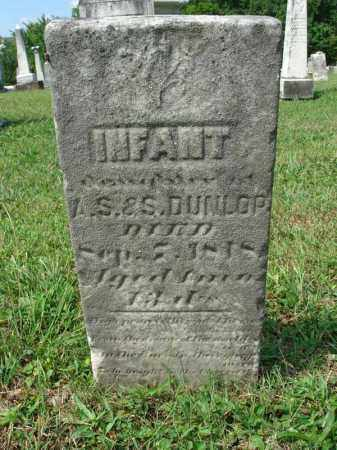 DUNLOP, INFANT - Fairfield County, Ohio | INFANT DUNLOP - Ohio Gravestone Photos