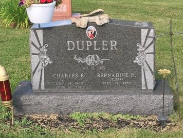 DUPLER, CHARLES E. - Fairfield County, Ohio | CHARLES E. DUPLER - Ohio Gravestone Photos