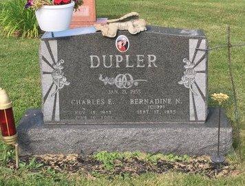 CUPP DUPER, BERNADINE N. - Fairfield County, Ohio   BERNADINE N. CUPP DUPER - Ohio Gravestone Photos