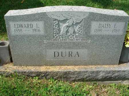 DURA, EDWARD L. - Fairfield County, Ohio | EDWARD L. DURA - Ohio Gravestone Photos