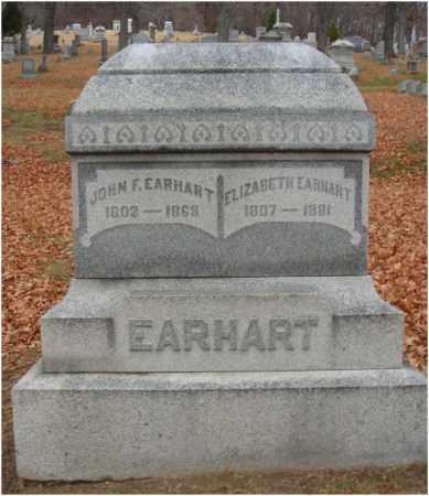 EARHART, JOHN F. - Fairfield County, Ohio | JOHN F. EARHART - Ohio Gravestone Photos