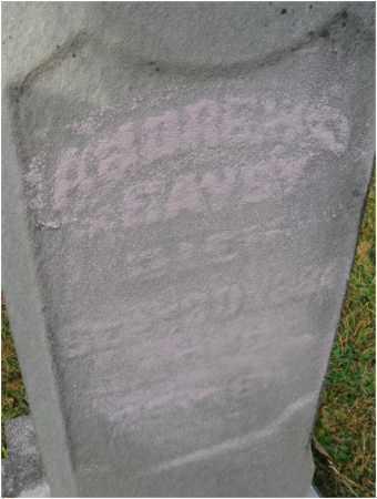 EAVEY, ANDREW - Fairfield County, Ohio | ANDREW EAVEY - Ohio Gravestone Photos