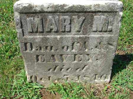 EAVEY, MARY M. - Fairfield County, Ohio | MARY M. EAVEY - Ohio Gravestone Photos