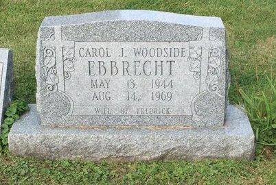 EBBRECHT, CAROL J. - Fairfield County, Ohio   CAROL J. EBBRECHT - Ohio Gravestone Photos