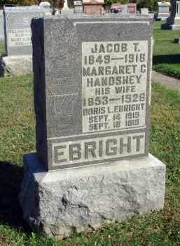 EBRIGHT, JACOB T. - Fairfield County, Ohio | JACOB T. EBRIGHT - Ohio Gravestone Photos