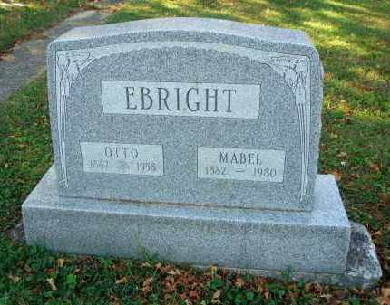 EBRIGHT, MABEL - Fairfield County, Ohio | MABEL EBRIGHT - Ohio Gravestone Photos