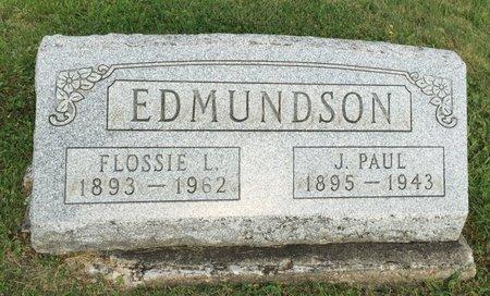 EDMUNDSON, FLOSSIE L. - Fairfield County, Ohio | FLOSSIE L. EDMUNDSON - Ohio Gravestone Photos