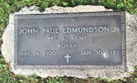 EDMUNDSON, JOHN PAUL  JR - Fairfield County, Ohio | JOHN PAUL  JR EDMUNDSON - Ohio Gravestone Photos