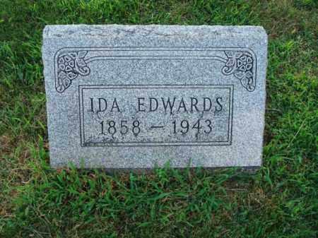 EDWARDS, IDA - Fairfield County, Ohio   IDA EDWARDS - Ohio Gravestone Photos