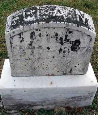 ELLAM, WILL - Fairfield County, Ohio | WILL ELLAM - Ohio Gravestone Photos