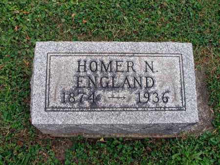 ENGLAND, HOMER N. - Fairfield County, Ohio | HOMER N. ENGLAND - Ohio Gravestone Photos