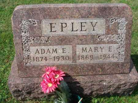 EPLEY, ADAM E. - Fairfield County, Ohio | ADAM E. EPLEY - Ohio Gravestone Photos
