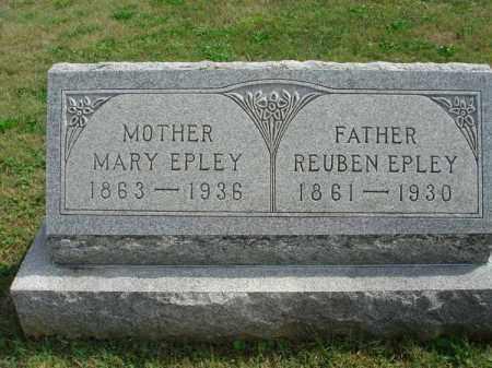 EPLEY, REUBEN - Fairfield County, Ohio   REUBEN EPLEY - Ohio Gravestone Photos