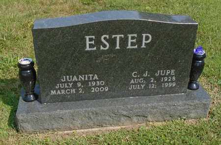 ESTEP, JUANITA - Fairfield County, Ohio | JUANITA ESTEP - Ohio Gravestone Photos