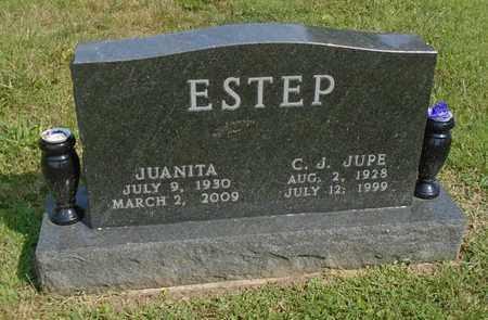 ESTEP, C. J. JUPE - Fairfield County, Ohio | C. J. JUPE ESTEP - Ohio Gravestone Photos