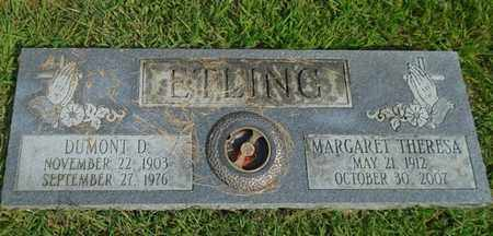 ETLING, MARGARET THERESA - Fairfield County, Ohio | MARGARET THERESA ETLING - Ohio Gravestone Photos