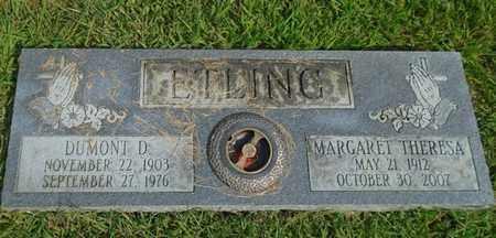 ETLING, MARGARET THERESA - Fairfield County, Ohio   MARGARET THERESA ETLING - Ohio Gravestone Photos