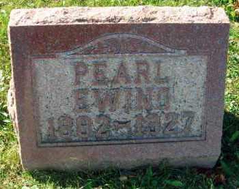 EWING, PEARL - Fairfield County, Ohio   PEARL EWING - Ohio Gravestone Photos