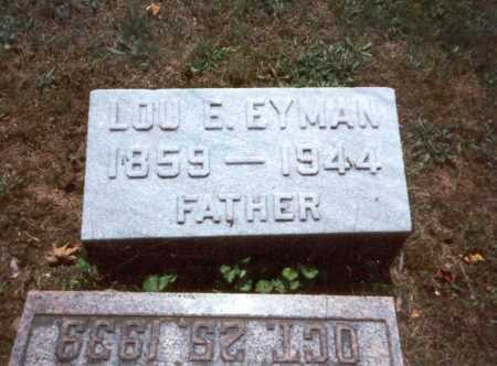 EYMAN, LOU E. - Fairfield County, Ohio   LOU E. EYMAN - Ohio Gravestone Photos