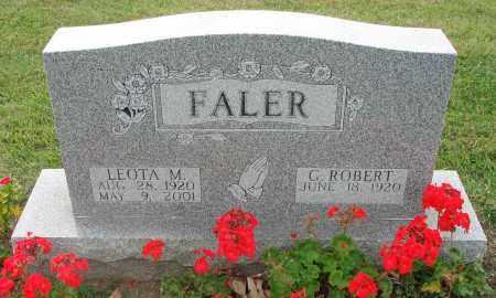 FALER, LEOTA M. - Fairfield County, Ohio | LEOTA M. FALER - Ohio Gravestone Photos