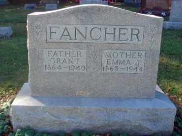 FANCHER, GRANT - Fairfield County, Ohio | GRANT FANCHER - Ohio Gravestone Photos