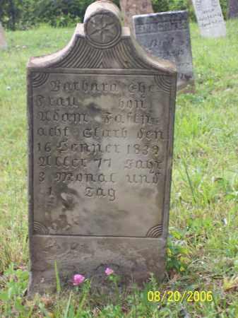 ROOT FASNAUGHT, BARBARA - Fairfield County, Ohio   BARBARA ROOT FASNAUGHT - Ohio Gravestone Photos