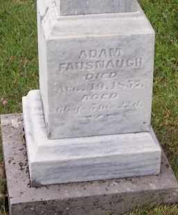 FAUSNAUGH, ADAM - Fairfield County, Ohio   ADAM FAUSNAUGH - Ohio Gravestone Photos