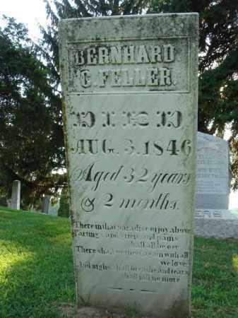FELLER, BERNHARD C. - Fairfield County, Ohio | BERNHARD C. FELLER - Ohio Gravestone Photos