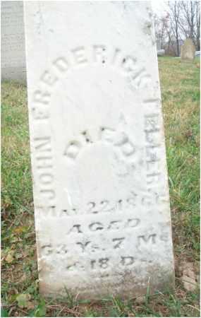 FELLERS, JOHN FREDERICK - Fairfield County, Ohio | JOHN FREDERICK FELLERS - Ohio Gravestone Photos