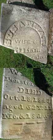 FENSTERMAKER, SUSANNAH - Fairfield County, Ohio | SUSANNAH FENSTERMAKER - Ohio Gravestone Photos