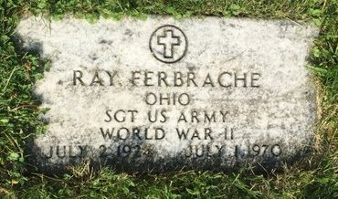 FERBRACHE, RAY - Fairfield County, Ohio | RAY FERBRACHE - Ohio Gravestone Photos