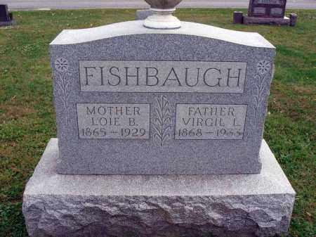 FISHBAUGH, VIRGIL L. - Fairfield County, Ohio | VIRGIL L. FISHBAUGH - Ohio Gravestone Photos