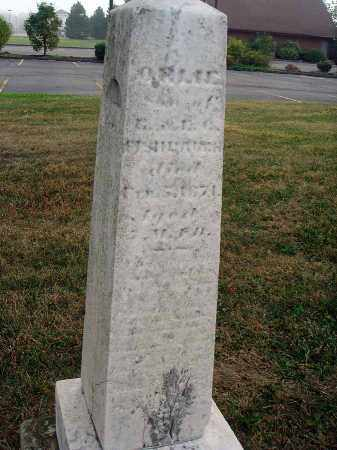 FISHBAUGH, ORLIE - Fairfield County, Ohio | ORLIE FISHBAUGH - Ohio Gravestone Photos