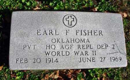FISHER, EARL F. - Fairfield County, Ohio | EARL F. FISHER - Ohio Gravestone Photos