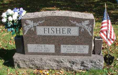 FISHER, OPAL E. - Fairfield County, Ohio | OPAL E. FISHER - Ohio Gravestone Photos