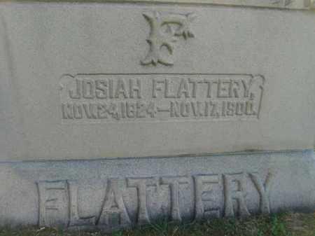 FLATTERY, JOSIAH - Fairfield County, Ohio   JOSIAH FLATTERY - Ohio Gravestone Photos
